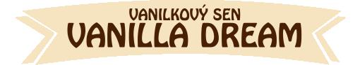 Vanilla dream - Vanilkový sen - label